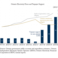 From One Pocket to Another: Mounting Fiscal Costs of Taxpayer Support for Electricity Prices